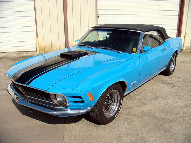 1970 Mustang Convertible Stk 70031